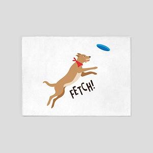 Fetch! 5'x7'Area Rug