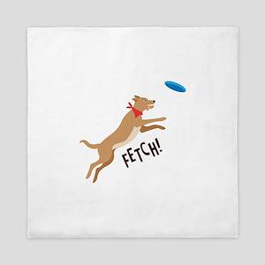 Fetch! Queen Duvet