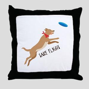 Take Flight Throw Pillow