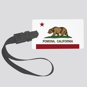 Pomona California Republic Flag Luggage Tag