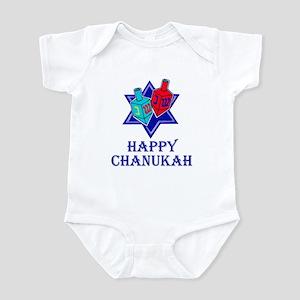 Star and Dreidels Infant Bodysuit