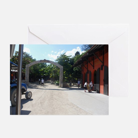 Labadee, Haiti  Greeting Card