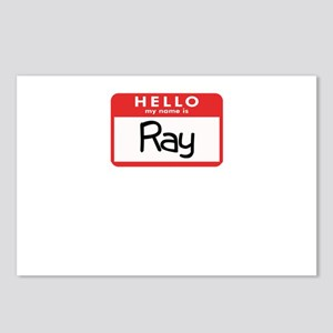 Hello Ray Postcards (Package of 8)