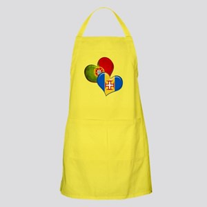 Portugal and Madeira hearts Apron