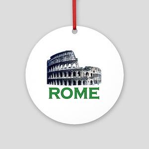 Rome, Italy (Colosseum) Ornament (Round)