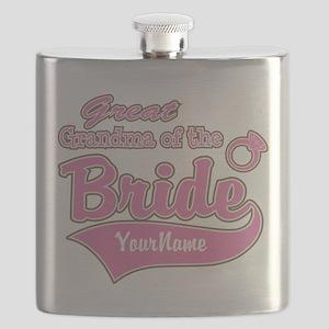 Great Grandma of the Bride Flask