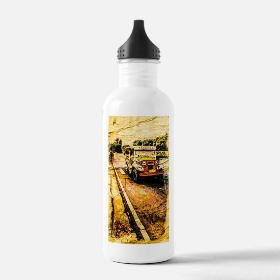 Manila Jeepney 2 Water Bottle