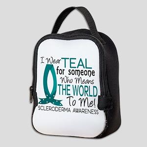 Scleroderma MeansWorldToMe1 Neoprene Lunch Bag
