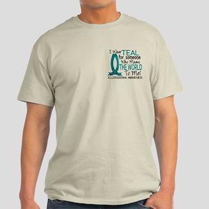 Scleroderma MeansWorldToMe1 Light T-Shirt