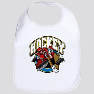 Crazy Hockey Player Bib