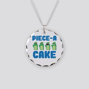 Piece-A-Cake - Oven Mitts 06 Necklace Circle Charm
