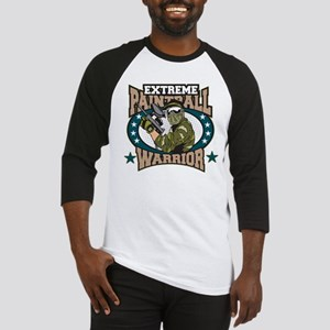 Extreme Paintball Warrior Baseball Jersey
