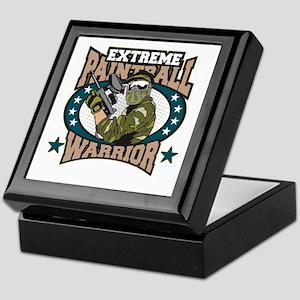 Extreme Paintball Warrior Keepsake Box