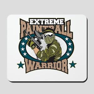 Extreme Paintball Warrior Mousepad