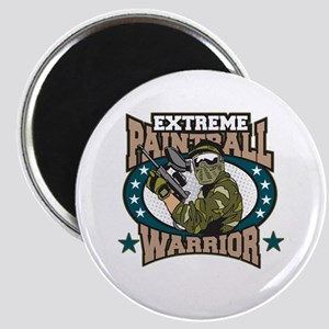 Extreme Paintball Warrior Magnet