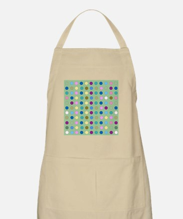Polka Dots on Mint Apron