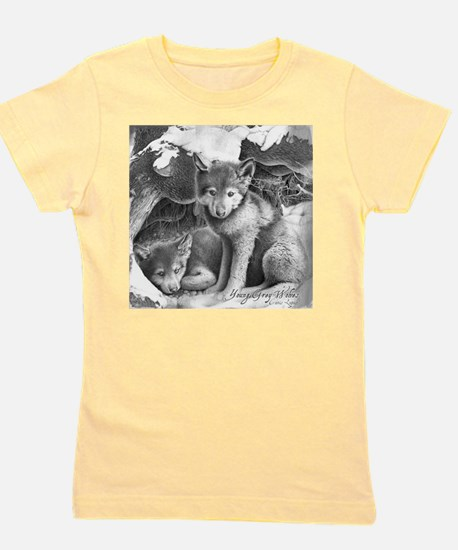 Young Gray Wolves T-Shirt