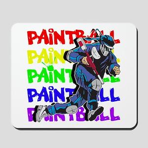 Paintball Player Mousepad