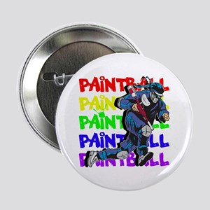 "Paintball Player 2.25"" Button"