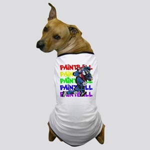 Paintball Player Dog T-Shirt