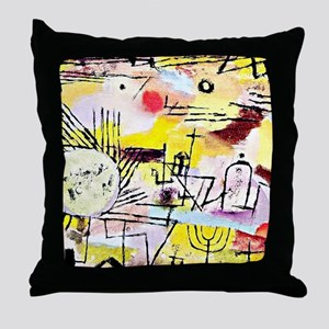 Klee - Rising Sun Throw Pillow