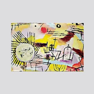Klee - Rising Sun Rectangle Magnet
