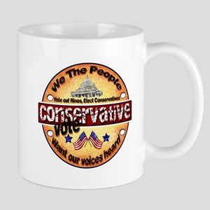We the People Want our Voices Heard Mugs