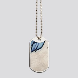 Midnight Blue Fairy Fantasy Art Dog Tags