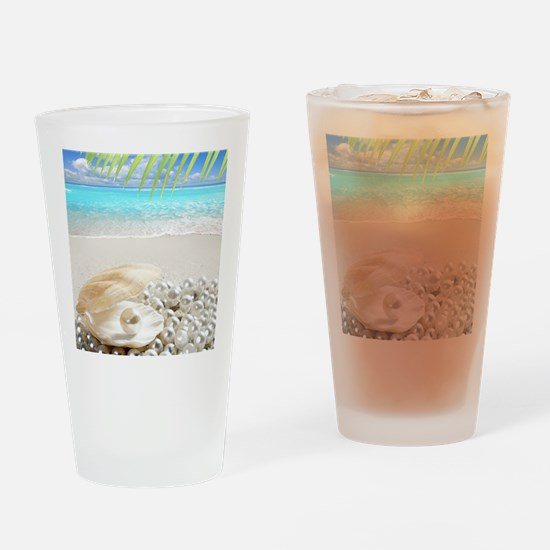 Pearls Drinking Glass