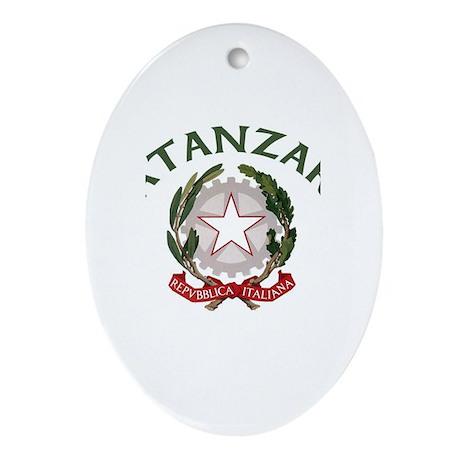 Catanzaro, Italy Oval Ornament