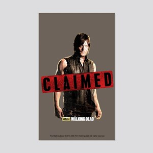 Daryl Dixon Claimed Sticker (Rectangle)