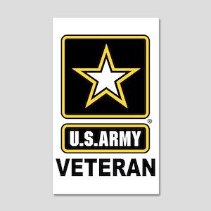 U.S. Army Veteran Wall Decal