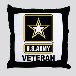 U.S. Army Veteran Throw Pillow