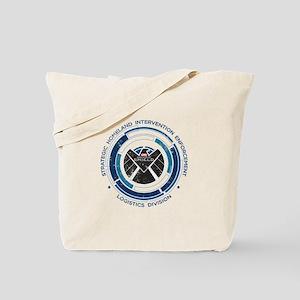 Distressed Shield Tote Bag