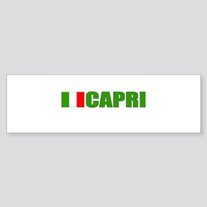 Capri, Italy Bumper Sticker