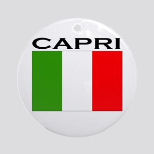 Capri, Italy  Ornament (Round)