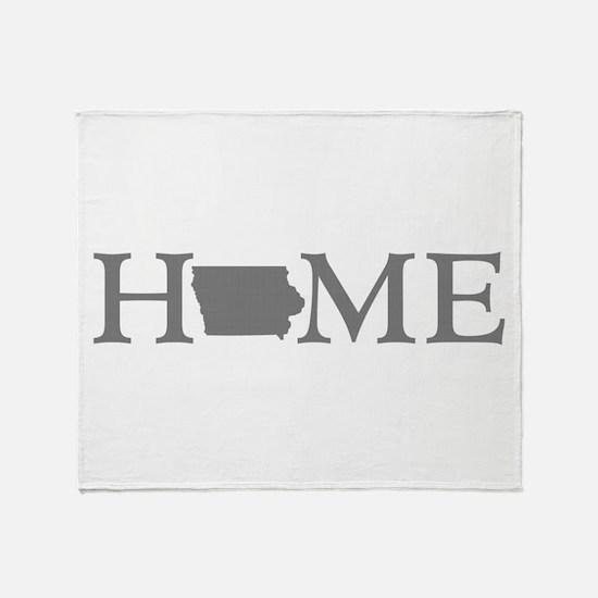 Iowa Home Throw Blanket