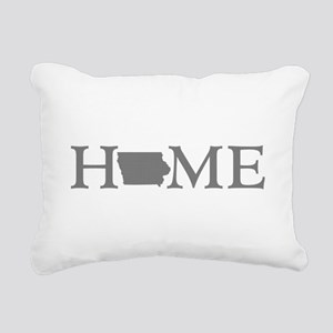 Iowa Home Rectangular Canvas Pillow