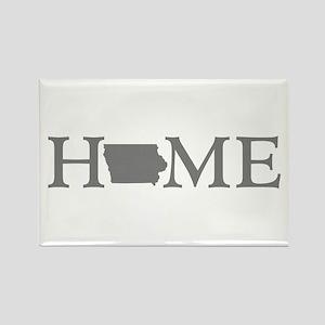 Iowa Home Rectangle Magnet