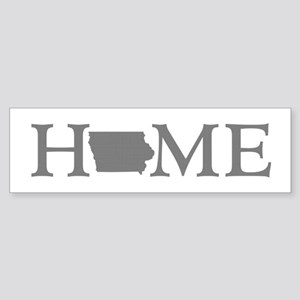 Iowa Home Sticker (Bumper)