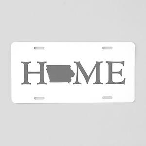 Iowa Home Aluminum License Plate