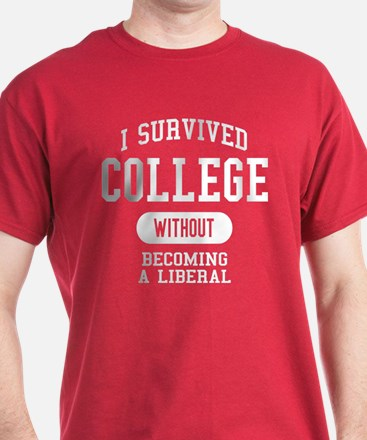 Funny College Design T-Shirt