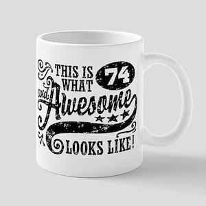 74th Birthday Mug