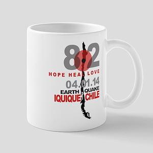 Chile Hope Heal Love Iquique Earthquake Mugs