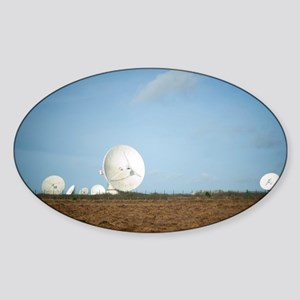 Goonhilly Earth Station Sticker (Oval)