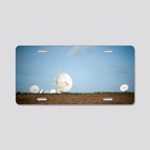 Goonhilly Earth Station Aluminum License Plate