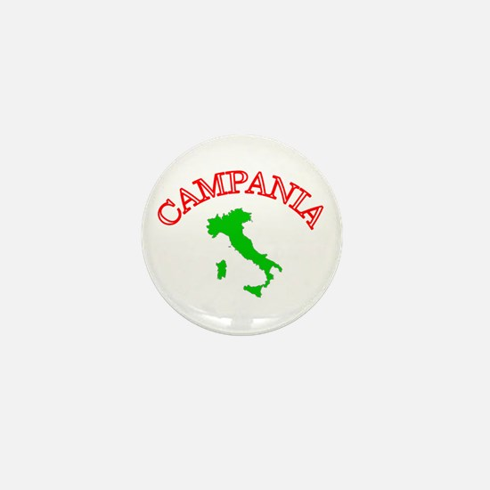 Campania, Italy Mini Button
