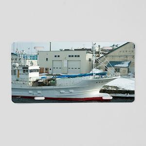 Fishing boat Aluminum License Plate