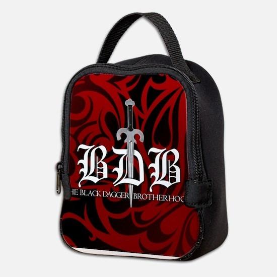 Bdb Red Neoprene Lunch Bag