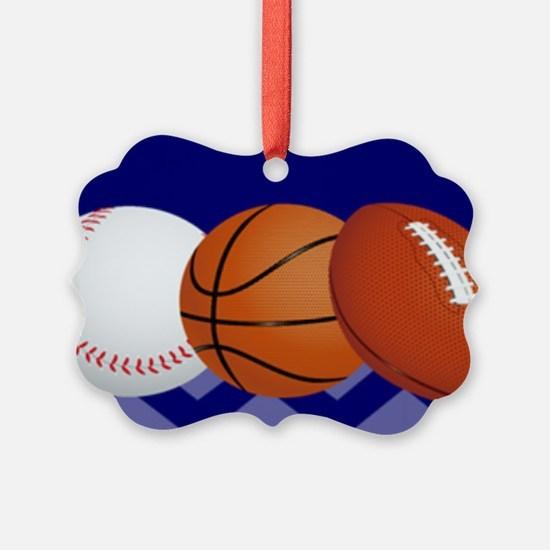 Sports Personalized Ornament